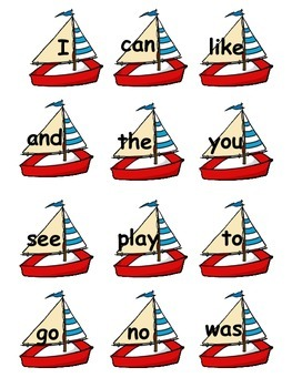 Sailing into Sight Words