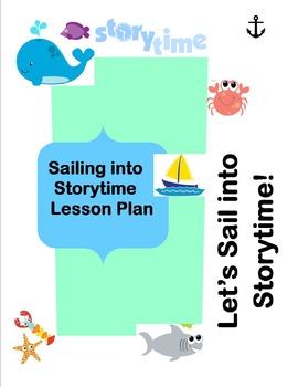 """Sailing into Storytime"" Preschool Lesosn Plan"