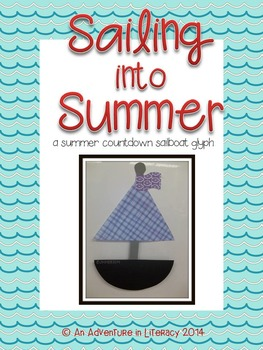 Sailing into Summer: A Summer Countdown Sailboat Glyph