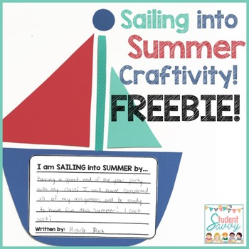 Sailing into Summer Craftivity - Freebie!
