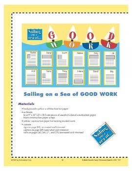 Sailing on a Sea of Good Work (Bulletin Board)