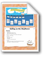 Sailing on the Mayflower (Bulletin Boards)