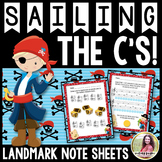 Landmark Note Worksheets {Sailing the C's}