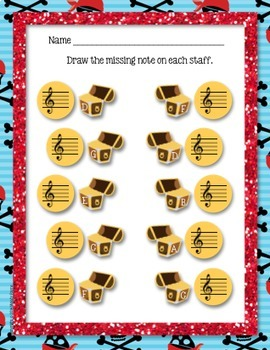 Treble Clef Worksheets {Sailing the C's}