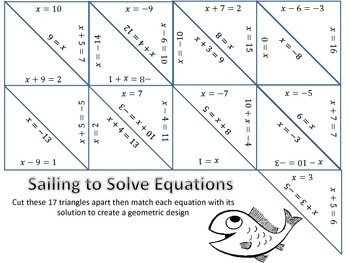 Sailing to Solve Equations