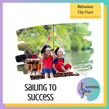 Sailing to Success: A Pirate-themed Behaviour Clip Chart f