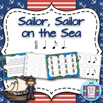 Sailor Sailor On The Sea:  A Song to Teach 6/8 rhythms