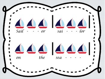 Sailor Sailor on the Sea:  mi re do, triple meter, or 6/8 time