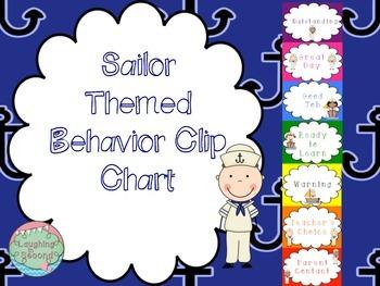 Nautical/Sailor Themed Behavior Chart
