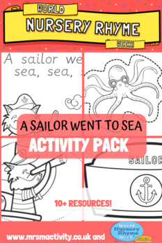 Sailor Went To Sea Activity Resource Pack