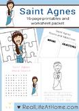 Saint Agnes Printables Activity Packet