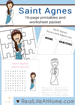 Saint Agnes Printables Activity Packet