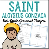 Saint Aloysius Gonzaga Notebook Journal Project, Christian Resources