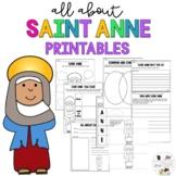 Saint Anne - Feast Day - Catholic Saints