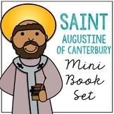 Saint Augustine of Canterbury Biography Mini Book in 3 Formats, Catholic School