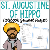 Saint Augustine of Hippo Notebook Journal Project, Catholic Resources