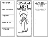 Saint Augustine of Hippo Research Project w/ Interactive Notebook Pockets