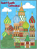 Saint Basil's Cathedral Mural