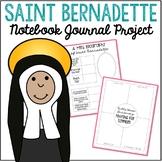 Saint Bernadette Notebook Journal Project, Christian Resources, Catholic Schools