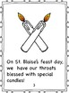 Saint Blaise; Blessing of the Throats
