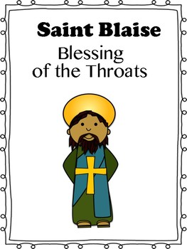 Image result for blessing of the throats clip art