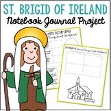 Saint Brigid of Ireland Notebook Journal Project, Catholic