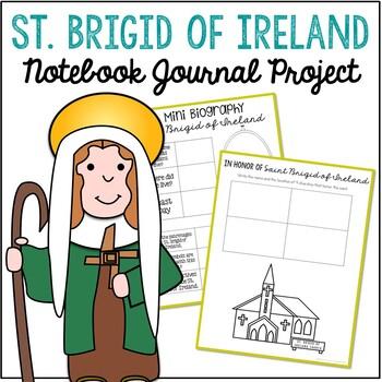 Saint Brigid of Ireland Notebook Journal Project, Catholic Schools