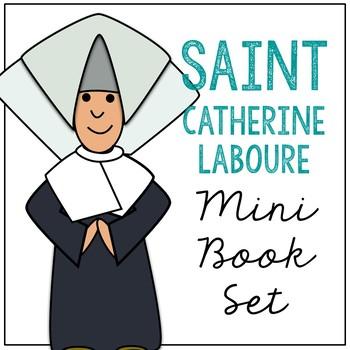 Saint Catherine Laboure Biography Mini Book in 3 Formats, Catholic Resource