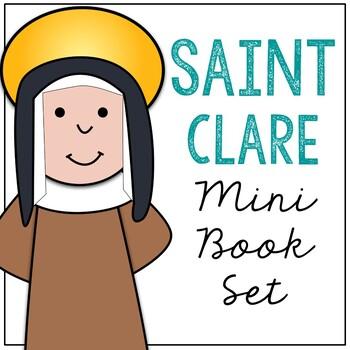 Saint Clare l Mini Book in 3 Formats, Catholic Resource