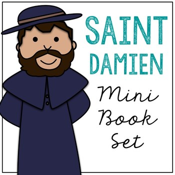 Saint Damien Biography Mini Book in 3 Formats, Catholic Resource