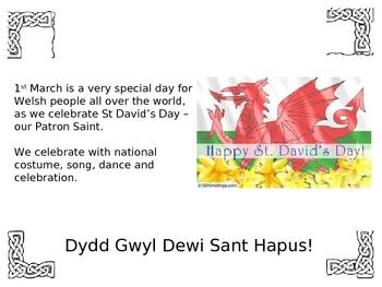Saint David - Dewi Sant Patron Saint of Wales