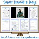 Saint David's Day Comprehensions - Set of 6