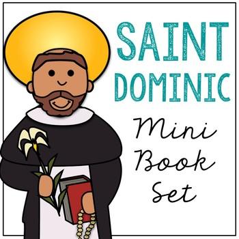 Saint Dominic Biography Mini Book in 3 Formats, Catholic Resource