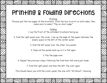 Saint Dominic Research Brochure Project with Interactive Notebook Pockets