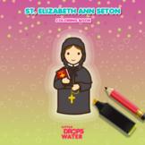 Saint Elizabeth Ann Seton Colouring Pages