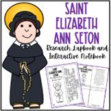 Saint Elizabeth Ann Seton Research Lapbook | Biography Project