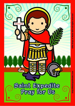 Saint Expedite Poster - Catholic