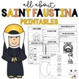 Saint Faustina - Feast Day October 5 - Catholic Saints