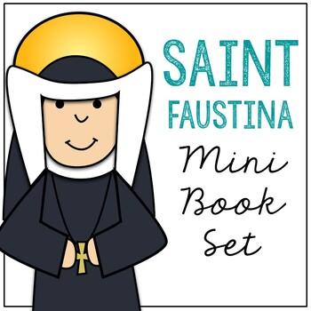 Saint Faustina l Mini Book in 3 Formats, Catholic Resource