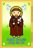 Saint Francis Poster - Catholic