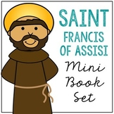 Saint Francis of Assisi Biography Mini Book in 3 Formats,