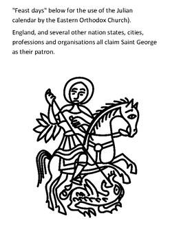Saint George Handout