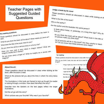 Saint George and the Dragon | Caldecott Book Guided Reading and Response