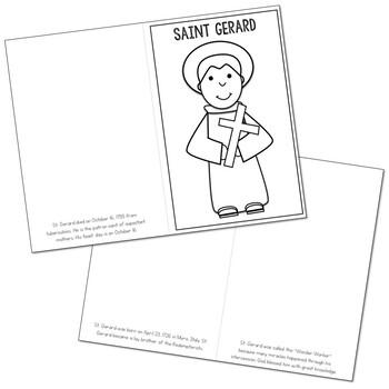 Saint Gerard l Mini Book in 3 Formats, Catholic Resource