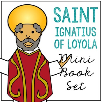 Saint Ignatius of Loyola l Mini Book in 3 Formats, Catholic Resource