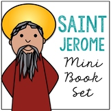 Saint Jerome Biography Mini Book in 3 Formats, Catholic Resource