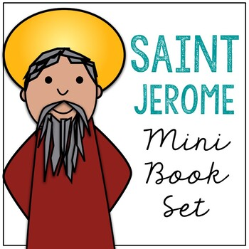 Saint Jerome  l Mini Book in 3 Formats, Catholic Resource