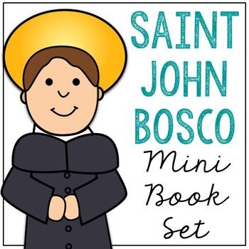 Saint John Bosco Biography Mini Book in 3 Formats, Catholic Resource