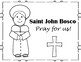Saint John Bosco Mini Book and Coloring Page!