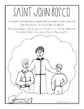 Saint John Bosco: Readers Theater Skit
